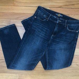 """Lucky Jeans Hayden Skinny 28"""" inseam"""